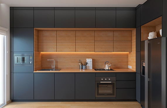 Is modular kitchen design L shape really better than the carpenter-made kitchen?