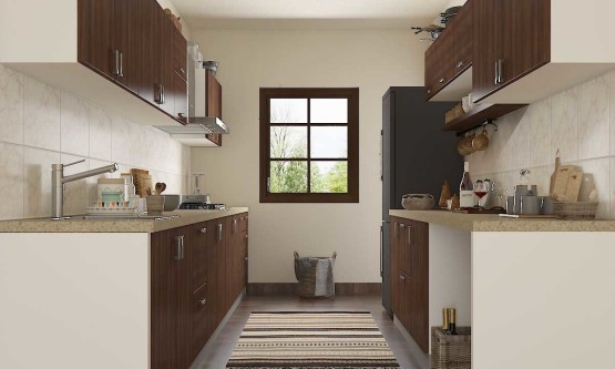 Why parallel kitchen layout is being appreciated so much by home owners?