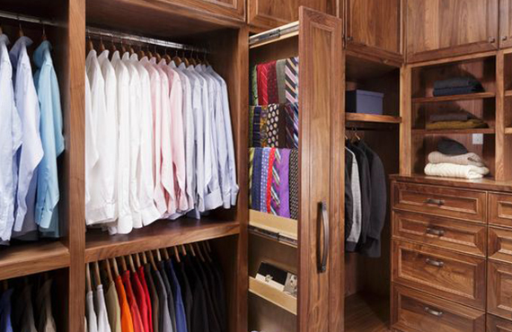 Get the storage space you need with L shaped Wardrobe